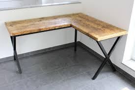 Schreibtisch Aus Glas Schreibtische Schreibtisch Aus Holzbohlen Thex Schwarzmatt