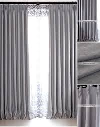 How To Make Room Darkening Curtains Gray Blackout Curtains