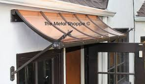 Copper Awnings For Homes Custom Copper And Iron Window Awnings Exterior Los Angeles