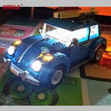lego volkswagen beetle mtele brand led light up kit for creator volkswagen beetle model