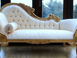 Bedroom Chaise Lounge Chairs White And Intricate Carved Gold Bedroom Chaise Lounge Chair With