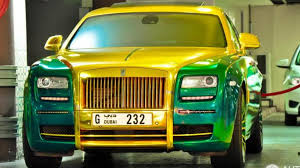 rolls royce ghost gold mansory u0027s green u0026 gold rolls royce ghost is hard to look at