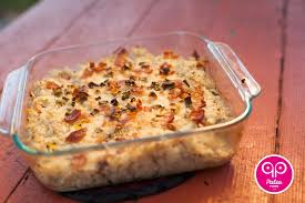 Bacon Main Dishes - baked cauliflower casserole paleo steamy paleo recipes