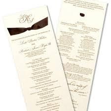 wedding programs with ribbon unique programs ribbon wedding program polyvore