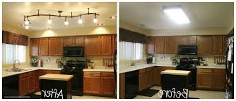 Kitchen Track Lighting Fixtures Kitchen Room 2017 Galley Kitchens Modern With Recessed Lighting