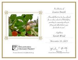 plant a fruit tree in celebration philadelphia orchard project