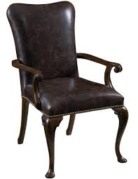 Upholstered Dining Room Chairs With Arms Leather Upholstered Dining Arm Chair By Furniture Design