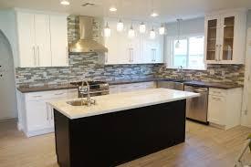 Kitchen With White Cabinets Chic White Shaker Kitchens Interior With L Shaped White Kitchen