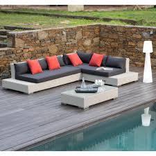 Comment Fabriquer Un Salon Marocain by Emejing Salon De Jardin Bois Angle Photos Amazing House Design