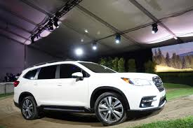 subaru forester 2019 2019 subaru ascent arrives with 19 cupholders automobile magazine