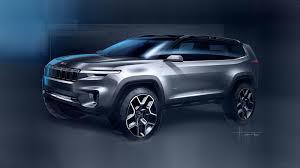 tonka jeep cherokee jeep yuntu concept has seven seats plug in hybrid powertrain