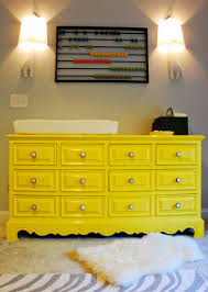 Using A Dresser As A Changing Table Dresser Transformations Twelve Ways To Repurpose A Dresser