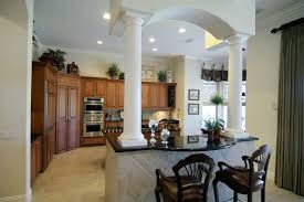 l shaped kitchen island with columns ramuzi u2013 kitchen design ideas