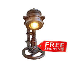 Industrial Guard Sconce by Edison Bulb Lamp Victorian Industrial Lamp Industrial Look