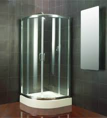 Corner Shower Units For Small Bathrooms Bathroom Design Modern Corner Shower Stalls With Tile Wall
