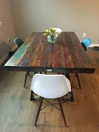 Barn Wood Dining Room Table Get 20 Paint Dining Tables Ideas On Pinterest Without Signing Up