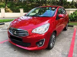 mitsubishi attrage 2016 used mitsubishi attrage 1 2 cvt for sale motorist sg