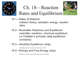ch 18 u2014reaction rates and equilibrium ppt video online download