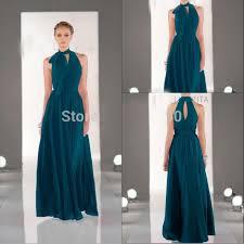 teal bridesmaid dresses modern tie neck teal bridesmaid dresses length a line