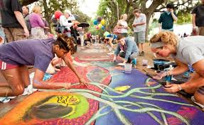 Savannah College Of Art And Design Housing Savannah Welcomes Spring With Colorful Sidewalk Art Waterways