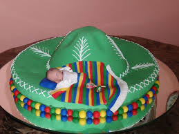 sombrero baby shower cake cakecentral com