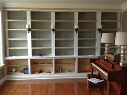 Diy Built In Bookshelves Plans Right Up My Alley How We Built Our Library Bookshelves