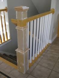 Replace Stair Banister Stair Banister Renovation Using Existing Newel Post And Handrail