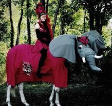 Halloween Costumes Elephant 12 Horses Costumes Brit