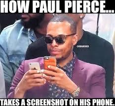 Clippers Meme - nba memes paul pierce vs technology clippers nation facebook