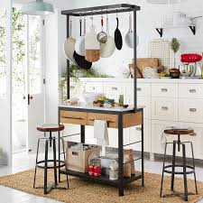 marble kitchen islands marble kitchen island pot rack elm