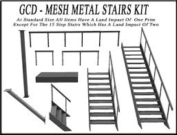 second life marketplace metal stairs builders kit