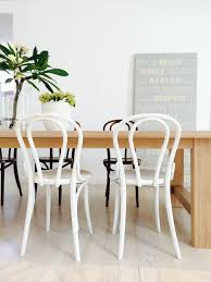 Dining Room Furniture Sydney White Bentwood Chairs At Our Lime Washed Hardwood Dining Table