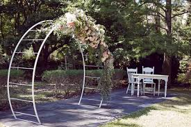 wedding arches perth jan ban in the prettiest of garden weddings