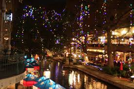 san antonio riverwalk christmas lights 2017 rock oak deer walking the walk the new old lights