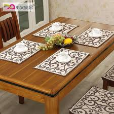 looks pretty high end home woven placemats green cloth place