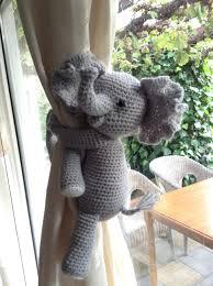 Elephant Curtains For Nursery A Pair Of Koala Curtain Tie Backs Nursery Curtains Tie Backs