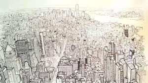 patrick vale u0027s timelapse drawing of the new york skyline
