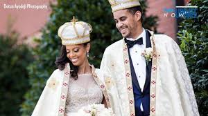 coming to america wedding dress the coming to america came to for one american woman