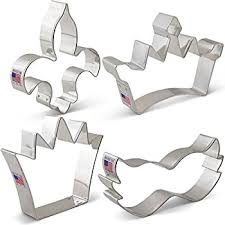 mardi gras cookie cutters mardi gras new orleans cookie cutter set 4