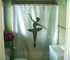 Ballerina Curtains Shower Curtain Ballerina Tutu Ballet Dance Balance