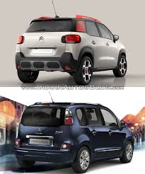 old citroen citroen c3 aircross vs citroen c3 picasso old vs new