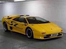1996 lamborghini diablo sv lamborghini diablo 5 7 sv genuine sv uk car for