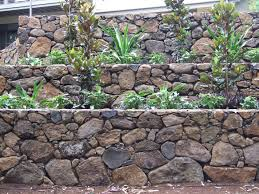 Stone Cladding For Garden Walls by Rock Retaining Walls Landscaping Design U0026 Construction