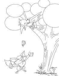 fables of la fontaine coloring pages coloring pages printable