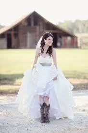 wedding dresses that go with cowboy boots in cowboy boots archives southern weddings