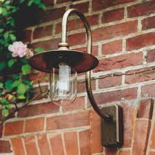 Cast Iron Outdoor Lighting by A Striking Outdoor Light Handmade In Solid Brass Our Granary