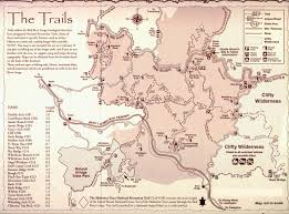 Clifty Falls State Park Map by Trail Crew Maps U0026 Directions