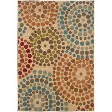 Area Rugs With Circles Geometric Area Rugs Rugs The Home Depot