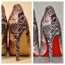 siege louboutin diy bottom shoes
