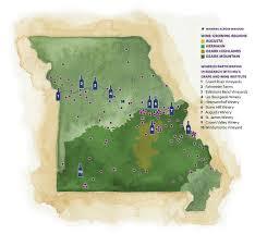 Grapevine Map Through The Grapevine Mizzou Magazine